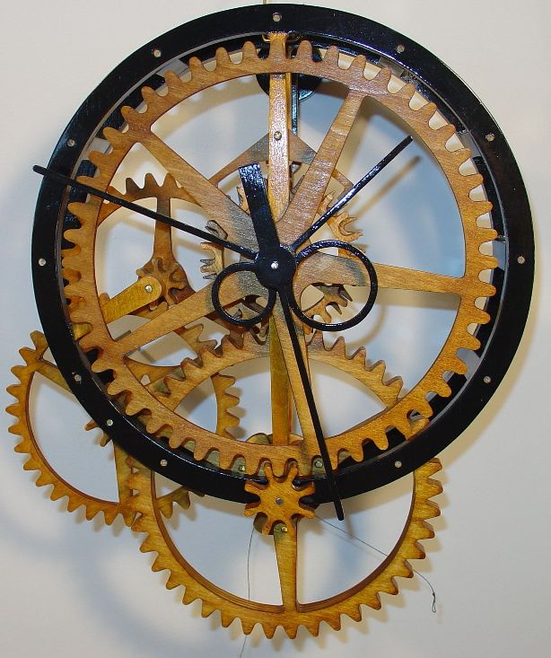 Scroll Saw Clock Plans Free