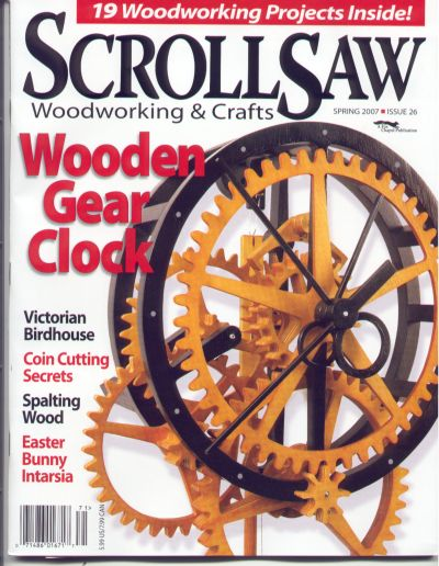 Wood Scroll Saw Woodworking Magazine PDF Plans